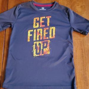 Get Fired Up SS Tee/ Medium 8 boys